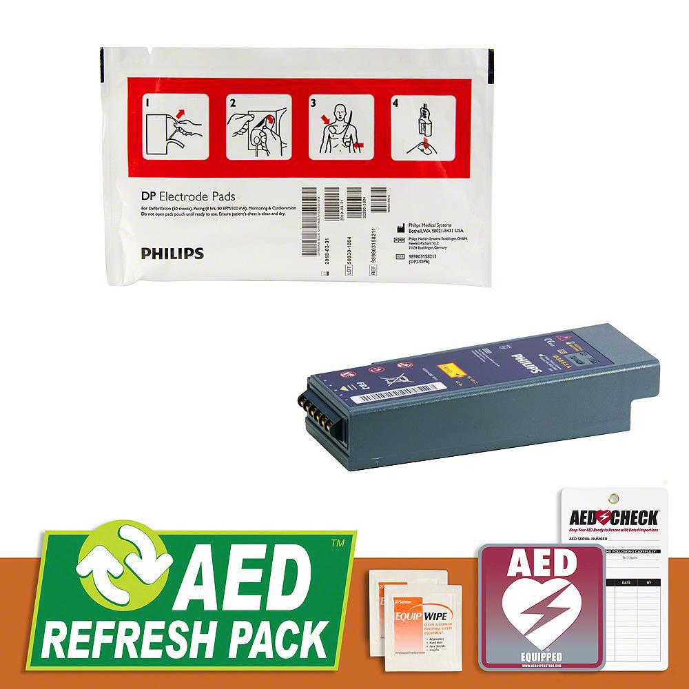 Philips HeartStart FR2/FR2+ AED Refresh Pack