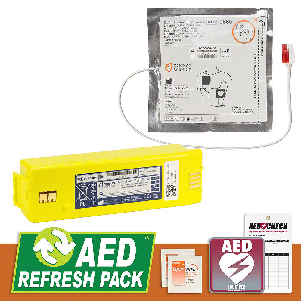 Cardiac Science Powerheart G3 PRO AED Refresh Pack