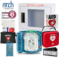 Philips OnSite AED Corporate Value Package (Includes RespondER® Premium Items)