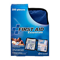 FAO All Purpose 200 Piece First Aid Kit, w/Medium Soft-sided Case