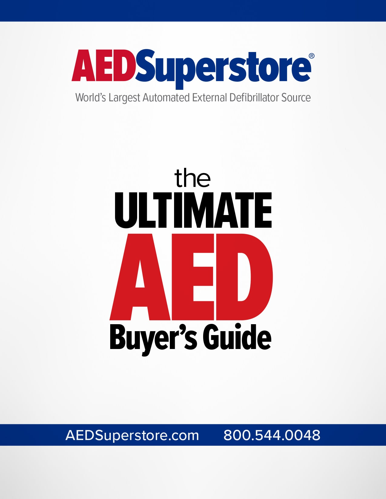 Ultimate AED Buyer's Guide