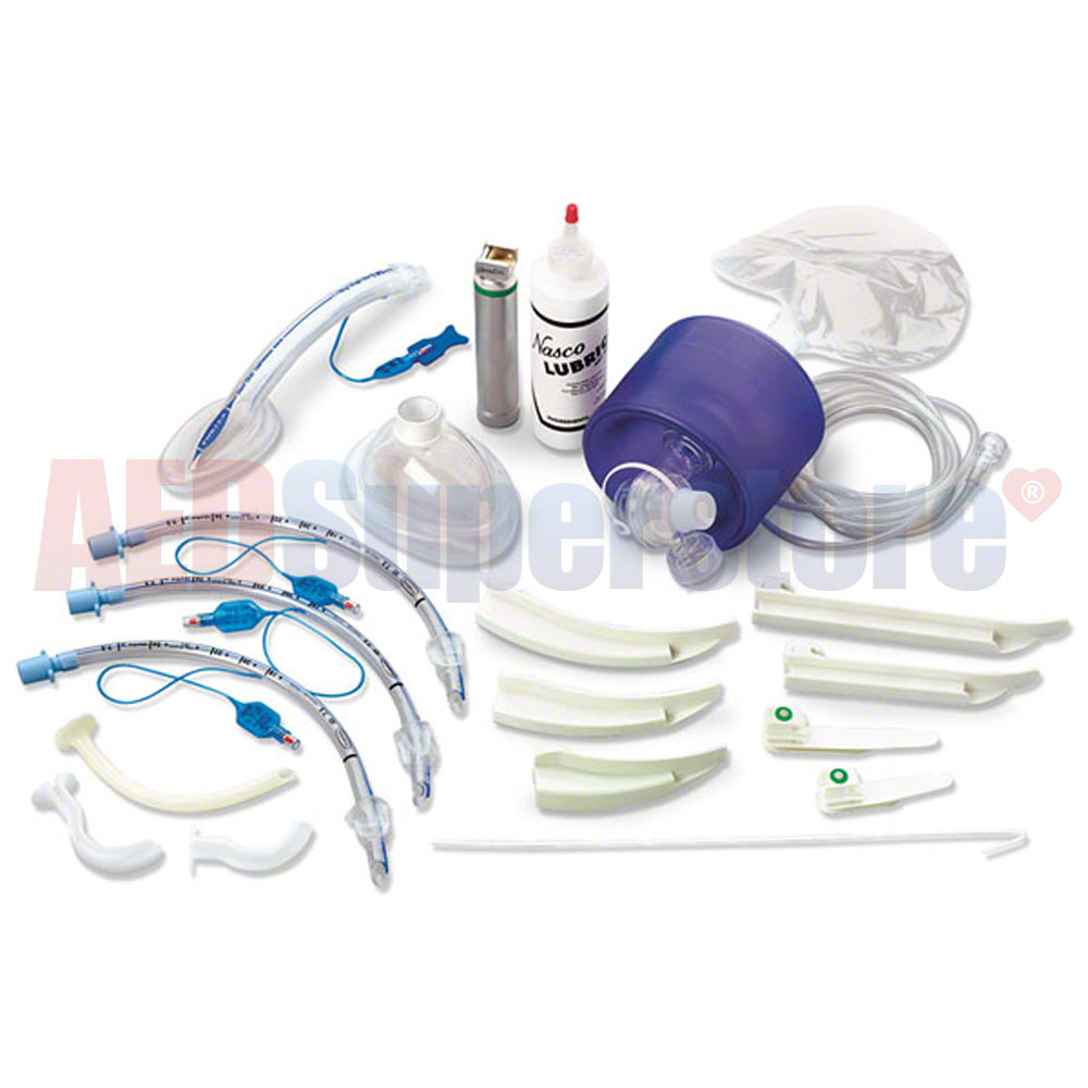 Simulaids Complete Adult Airway Management Trainer Kit