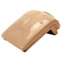 CPR Prompt® Outer Chest Plate for Tan Infant Manikin
