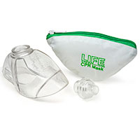 LIFE CPR Mask with Zipper Pouch