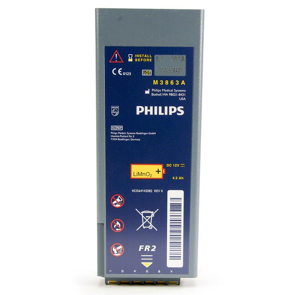 Philips FR2/FR2+ Replacement Long-Life Battery