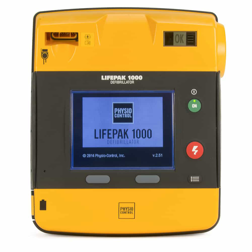 Pre-Owned LIFEPAK 1000® Biphasic AED with Text Display