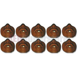 Simulaids African-American Channel Design Mouth/Nosepiece (10 pkg)