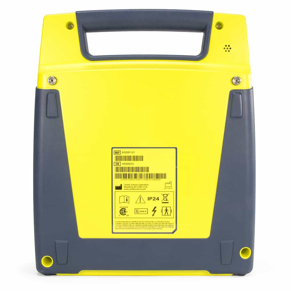 Cardiac Science Powerheart® AED G3 Pro Back View