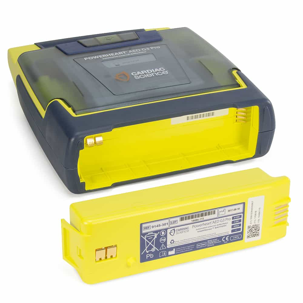 Cardiac Science Powerheart® AED G3 Pro Battery Compartment w/Battery Out