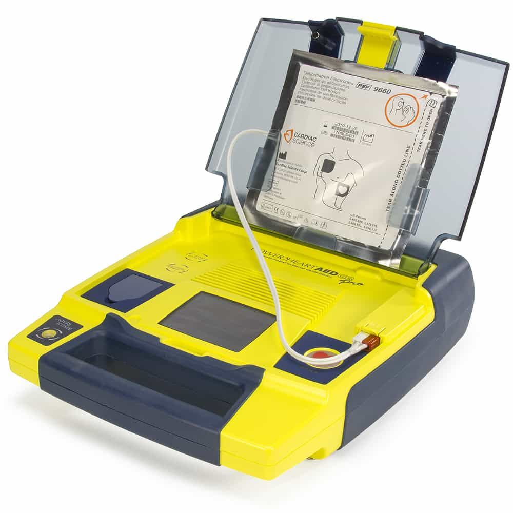 Cardiac Science Powerheart® AED G3 Pro w/Lid Open