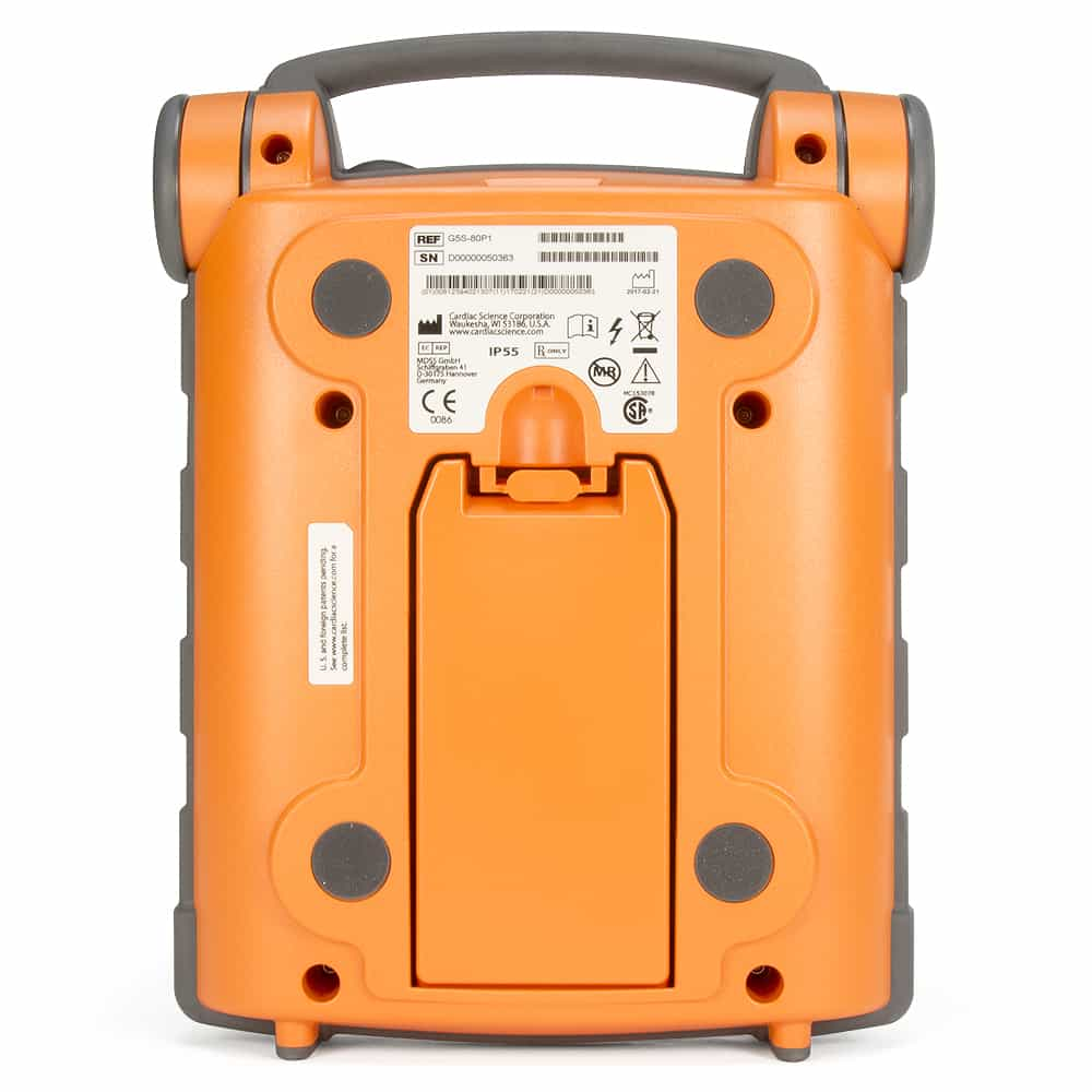 Cardiac Science Powerheart G5 AED Back View