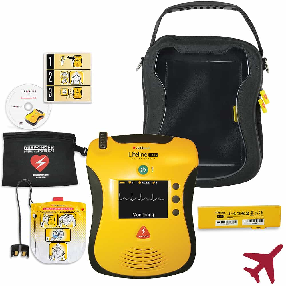 Defibtech Aviation ECG