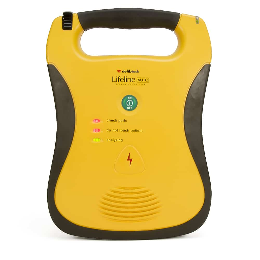Defibtech Lifeline Automatic Front View