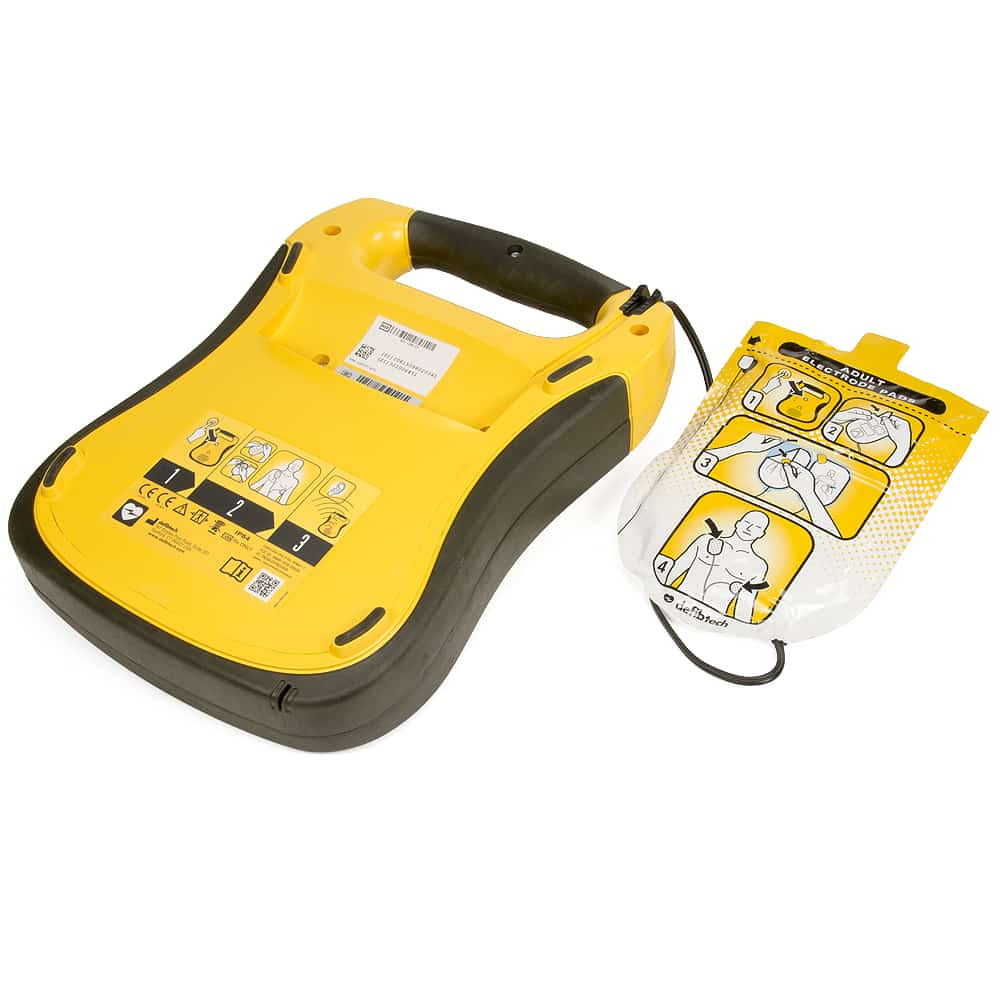 Defibtech Lifeline w/Adult Electrode Pads