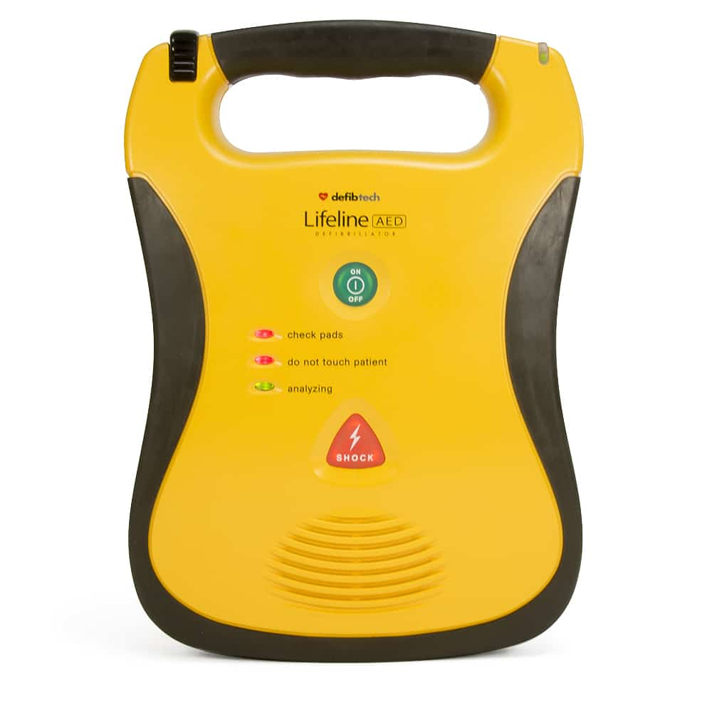 Defibtech Lifeline Aed Amp Auto Aed Aed Superstore
