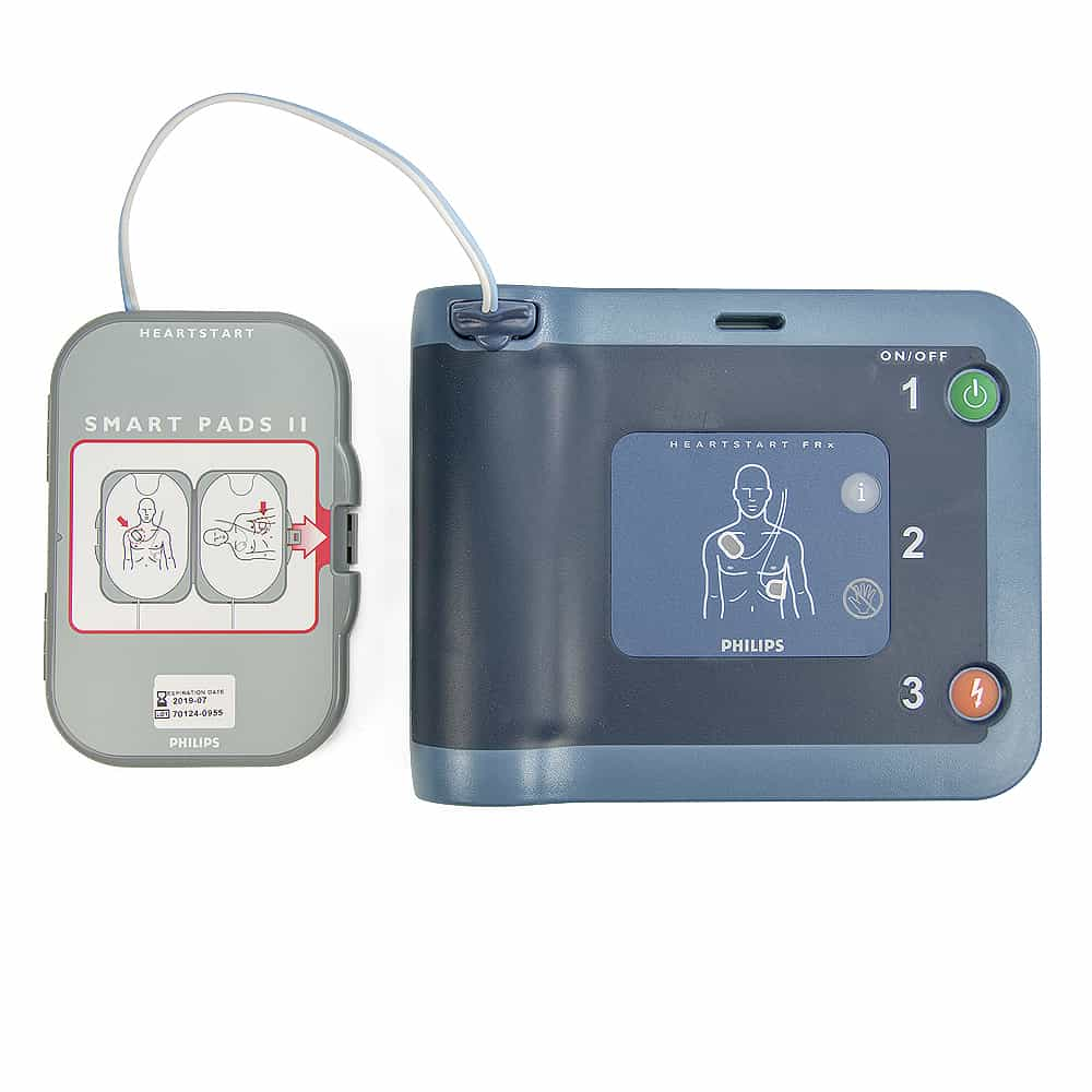 Philips HeartStart FRx AED w/SMART Pads II Electrode Pads Cartridge