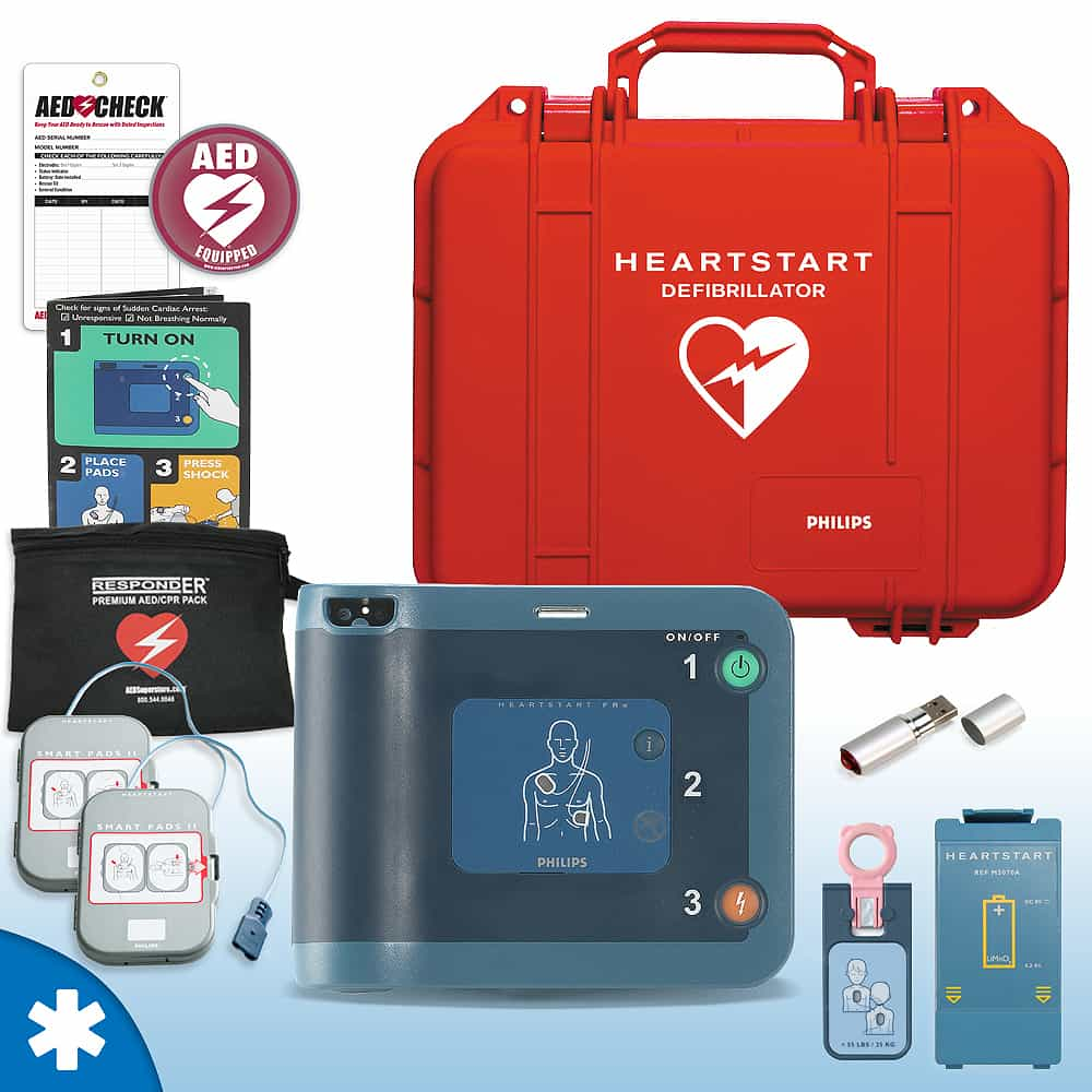 Philips HeartStart FRx AED Mobile Responder Value Package (Includes RespondER® Premium Items)