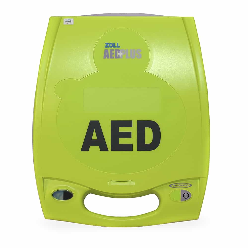 ZOLL AED Plus PASS Cover Front View