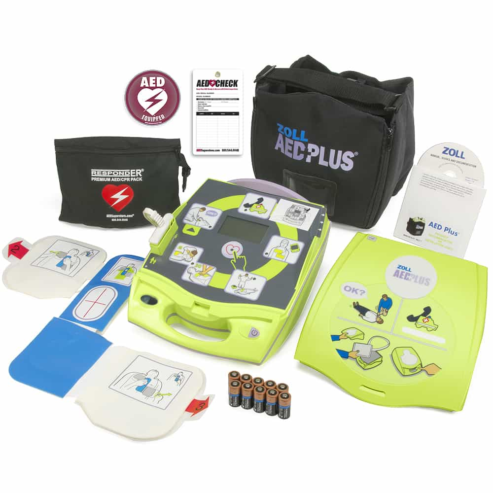 ZOLL AED Plus Graphical Cover w/Included Items