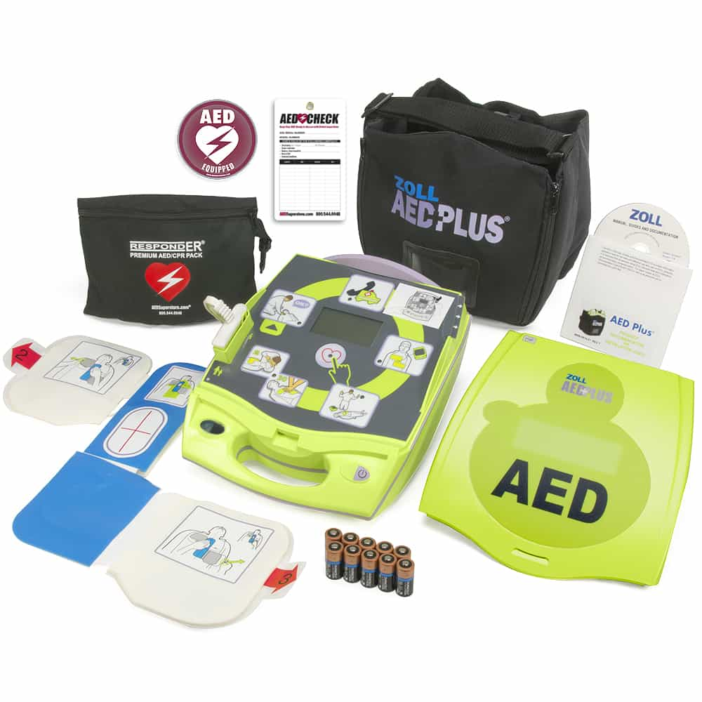 ZOLL AED Plus PASS Cover w/Included Items