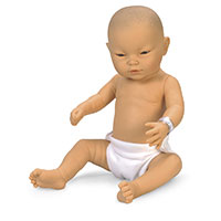 Newborn Baby Doll - Asian Baby Boy by Nasco