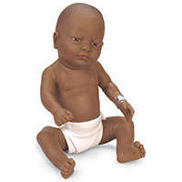 Nasco Newborn Baby Doll - Black Baby Girl