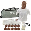 Simulaids David African-American CPR Adult Manikin w/Carry Bag w/Electronics