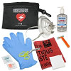RespondER® Ultimate CPR/AED Pack with RespondER® Mask & Hand Sanitizer in Nylon Pouch - For Resale