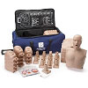 Prestan® Ultralite® Manikins Medium Skin Tone w/CPR Feedback 12-Pack