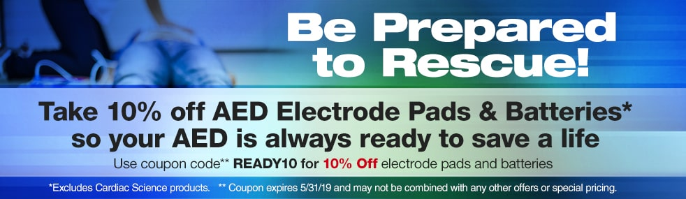 AED Electrode Pads & Batteries