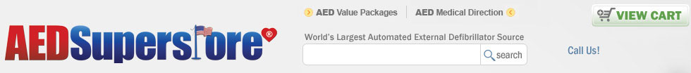 AED Superstore - the World's largest source for Automated External Defibrillators, AED accessories, and AED training