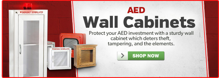 aed wall cabinets