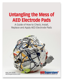 AED Electode Pad Guide guide
