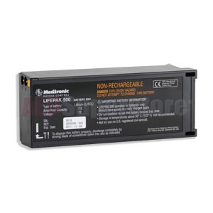 "Physio-Control LIFEPAK® 500 ""Special DPS"" Battery (Charcoal Color)"