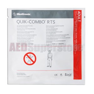 Physio-Control Electrode Adult RTS Radiotransparent 'No Preconnect' QUIK-COMBO