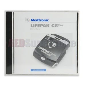 Physio-Control LIFEPAK CR® Plus/EXPRESS 'Service Manual' on CD-ROM