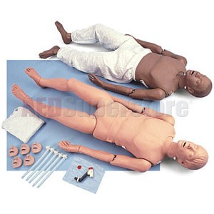 Simulaids Full-Body Adult CPR Manikin