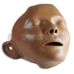 Laerdal Dark Skin Little Anne Face Pieces (6 Pack)