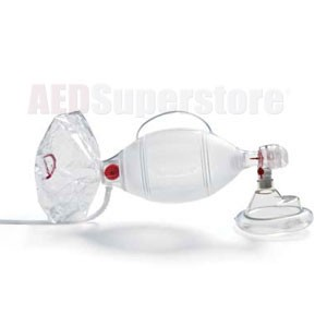 AMBU<sup>&reg;</sup> Bag SPUR<sup>&reg;</sup> II Infant Resuscitator w/Infant Mask & Oxygen Reservoir
