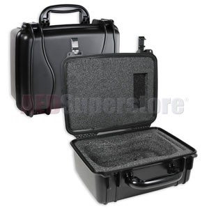 Defibtech Lifeline™ or Lifeline AUTO AED Water-Resistant Hard Carry Case - Black