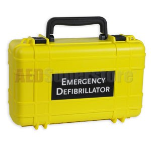 Defibtech Lifeline™ or Lifeline AUTO AED Water-Resistant Deluxe Hard Carry Case