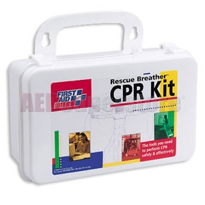 FAO 4 Person CPR Kit w/Plastic Case