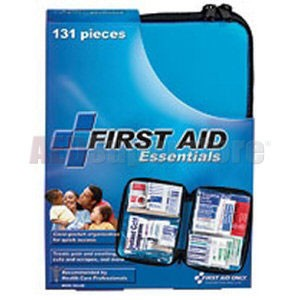 FAO All Purpose 131 Piece First Aid Kit, w/Medium Soft-sided Case