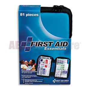 FAO All Purpose 81-Piece First Aid Kit w/Pocketbook Style Case