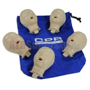 CPR Prompt® Extra Infant Manikin Heads for TAN