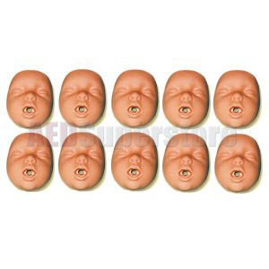 Simulaids Kim Channel Design Mouth/Nosepiece (10 pkg)