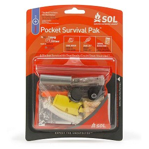 SOL Pocket Survival Pak Survival Kit by Adventure Medical Kits