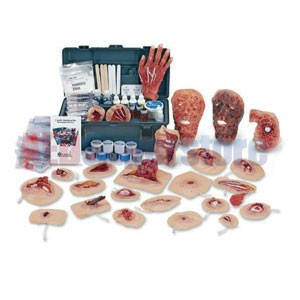 Simulaids Deluxe Xtreme Trauma Moulage Kit