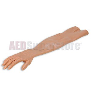 Laerdal Replacement Adult IV Arm Skin w/Thumb - Tan