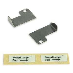 ZOLL PowerCharger Clips (2) with Instructions and Label
